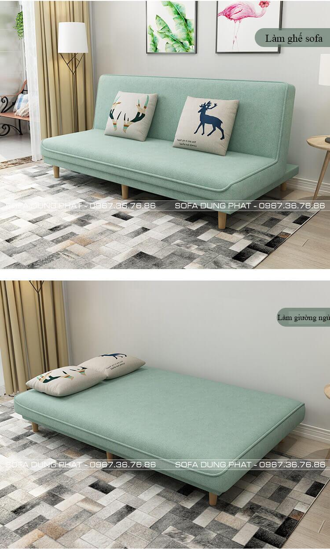 Giường gấp thành ghế sofa giá rẻ vừa làm giường vừa làm ghế sofa DP-GB 18