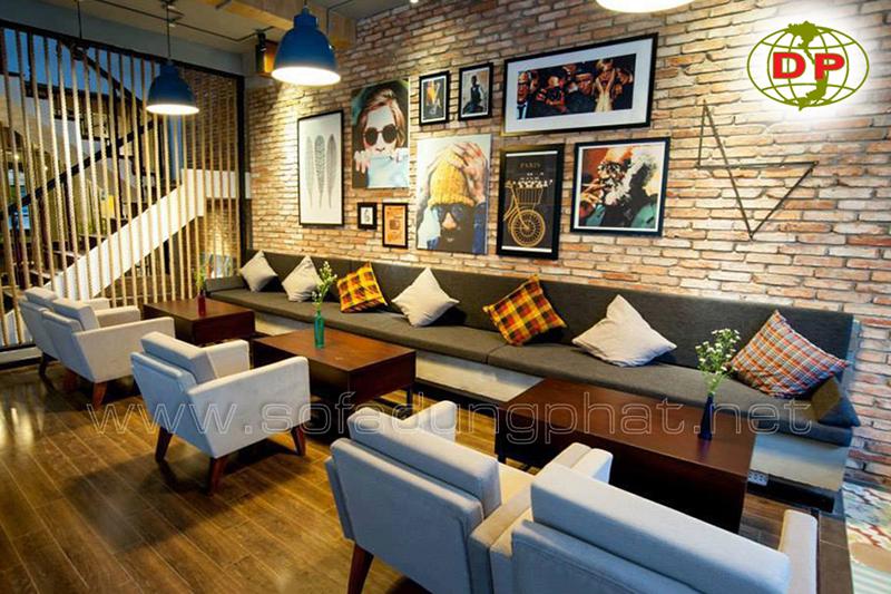 Ghế Sofa Cafe Thiết Kế Đơn Giản DP-CP02