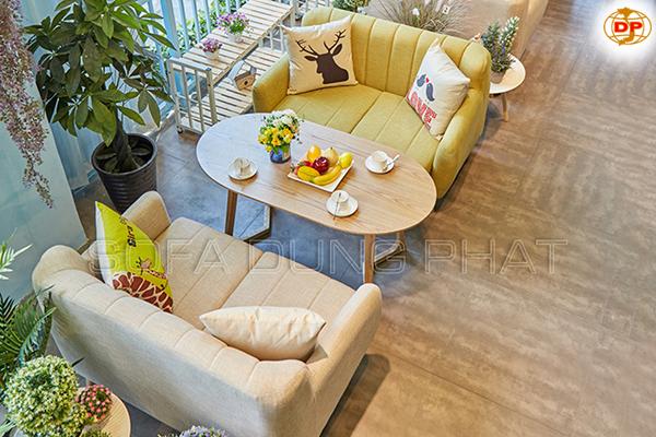 Ghế Sofa Quán Cafe Mẫu Mã Hiện Đại DP-CF27-1