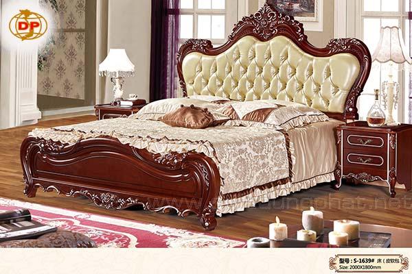Giường Ngủ Phong Cách Châu Âu DP-GN06