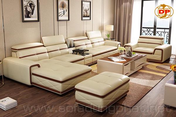 Sofa Da Cao Cấp Được Yêu Thích 2019 DP-CC01