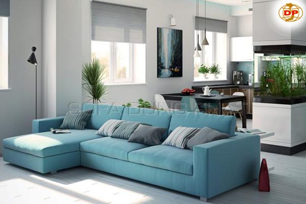 Sofa Vải Cho Phòng Khách Tinh Tế DP-PK19