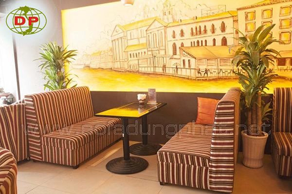 Ghế Ngồi Quán Cafe Sọc Lạ Mắt DP-CF23