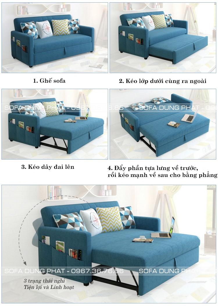 sofa giường kéo 1m8