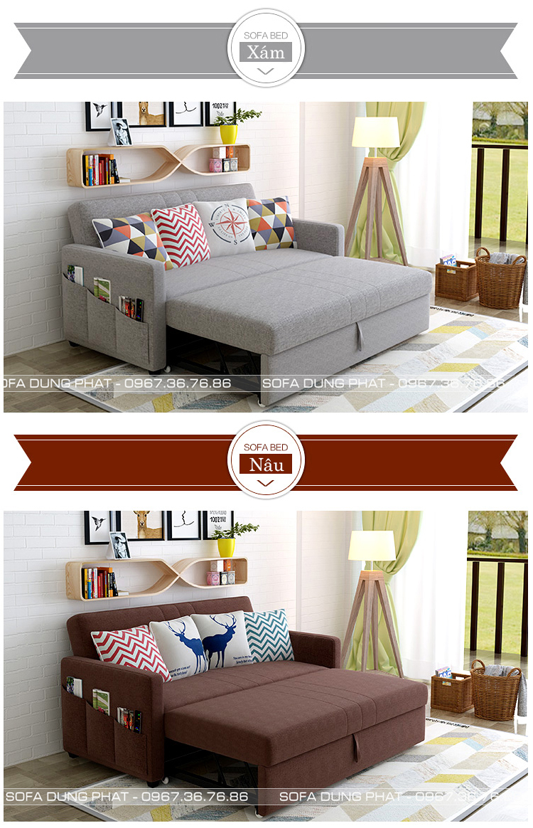 màu sofa giường đa năng