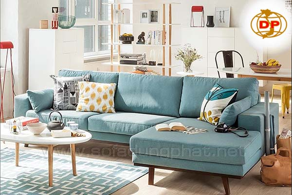 Sofa Phòng Khách Chung Cư Giá Rẻ Bền Đẹp DP-CHC16