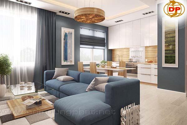 Sofa Cho Phòng Khách Chung Cư Đẹp Giá Rẻ DP-CHC15