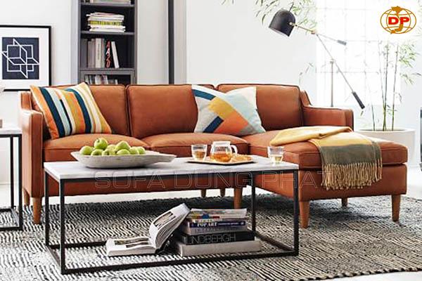Sofa Phòng Khách Chung Cư Nhỏ Giá Rẻ DP-CHC11