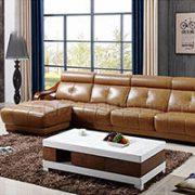 Sofa Da Đẹp Cho Phòng Khách Thêm Sang Trọng
