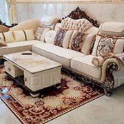 Ghế Sofa Đơn Cổ Điển Đậm Chất Châu Âu