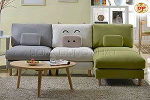 Sofa Góc L Kiểu Dáng Vui Nhộn
