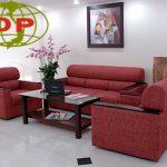 Sofa dài văn phòng thích hợp cho căn phòng diện tích lớn