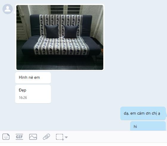 khách gửi cảm nhận khen sofa đẹp3