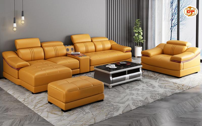Sofa Da Nhập Khẩu Cao Cấp DP-CC15
