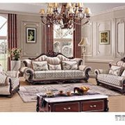 Sofa Da Cổ Điển Phong Cách Châu Âu