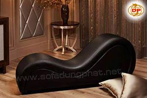 Sofa Cho Tình Nhân Màu Đen Lịch Lãm