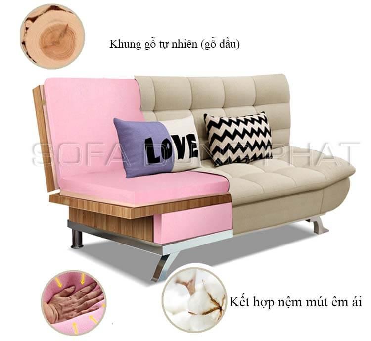 Khung ghế sofa giường 001