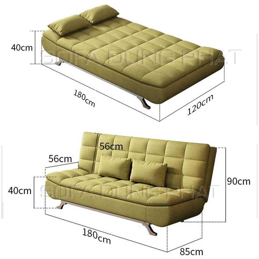 kích thước sofa giường 006