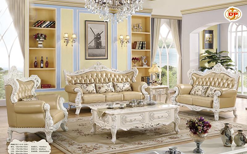 Sofa Cổ Điển Nhập Khẩu Phòng Khách Đẹp DP-CD14