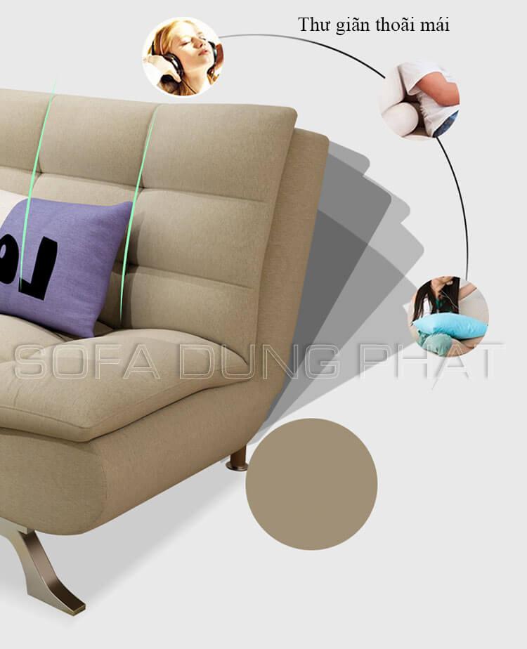 Thư giãn êm ái với ghế sofa giường giá rẻ chất lượng dp-gb-01