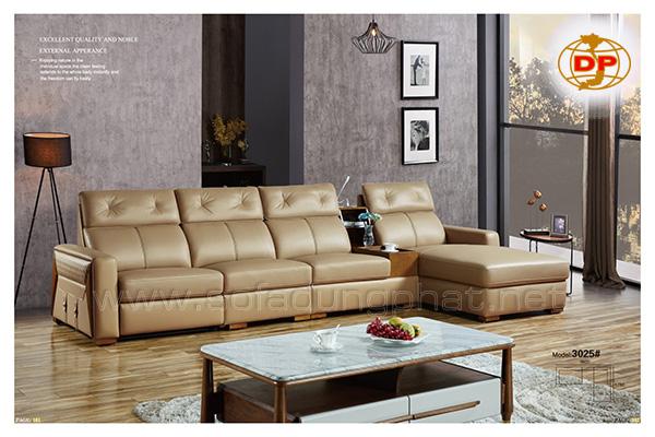 Sofa da bò cao cấp sang trọng, đẳng cấp DP-CC16