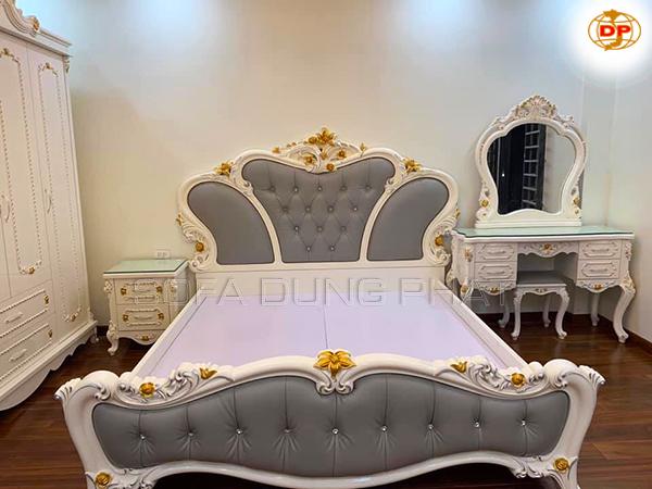 Giường Ngủ Kiểu Dáng Đẳng Cấp DP-GN14