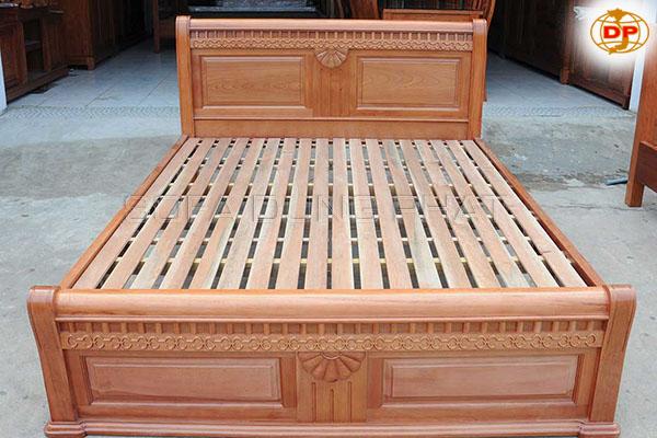 Giường Ngủ Gỗ Tự Nhiên Đơn Giản DP-GN17