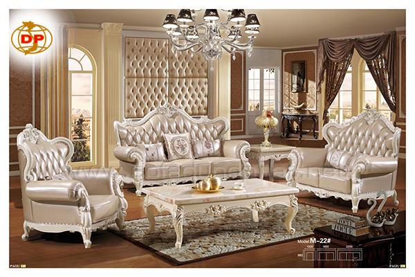 Bàn ghế sofa cổ điển Châu Âu