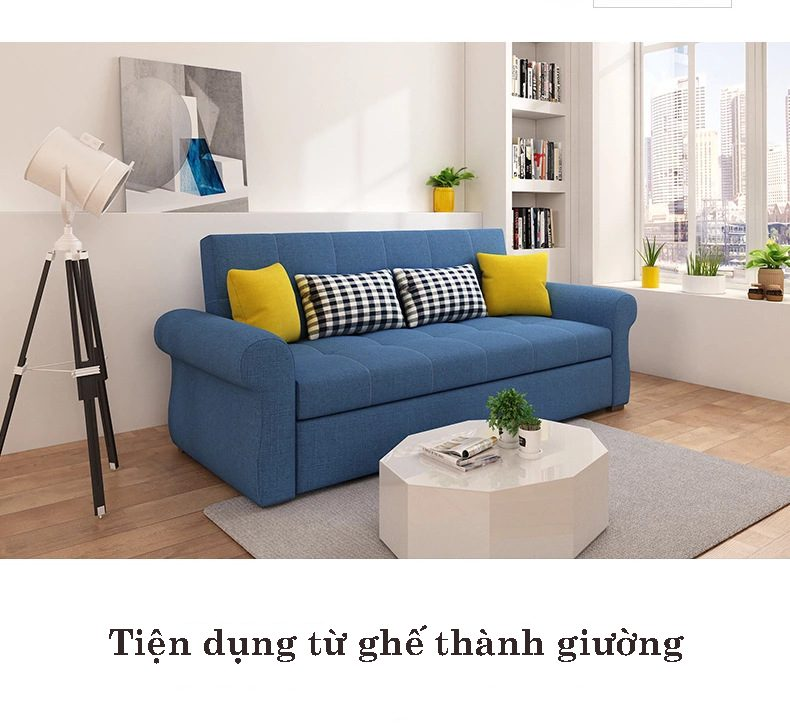 sofa giường kéo kích thước 1m9