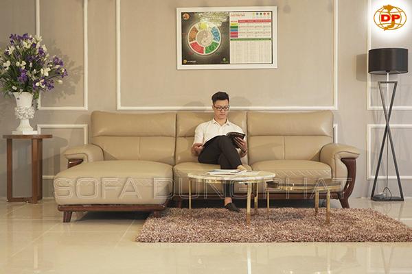 Ghế Sofa Phòng Khách Cao Cấp Đẹp Mắt DP-CC24