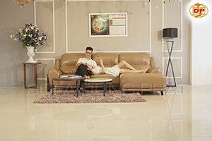 Ghế Sofa Da Đẹp Màu Sắc Hài Hòa