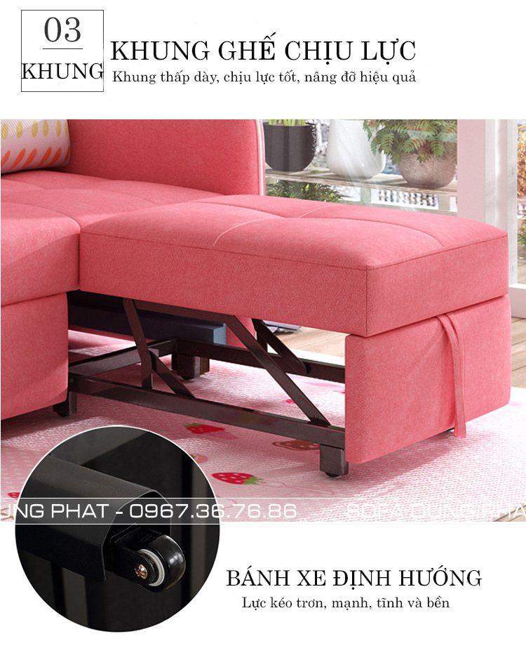 tính năng sofa giường kéo 2m1