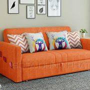 Sofa Giường Thông Minh Màu Cam Nổi Bật