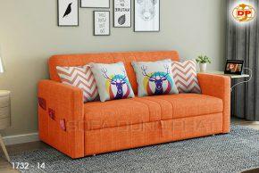 Sofa Giường Thông Minh Màu Cam Nổi Bật DP-GK35