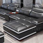 Sofa Nhập Khẩu Cao Cấp Màu Đen Sang Trọng