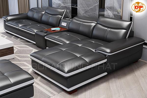 Sofa Nhập Khẩu Cao Cấp Màu Đen Sang Trọng DP-CC40