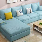 Sofa Nhập Khẩu Màu Xanh Thời Trang