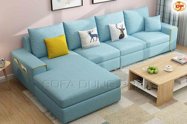 Sofa Nhập Khẩu Màu Xanh Thời Trang DP-CC47