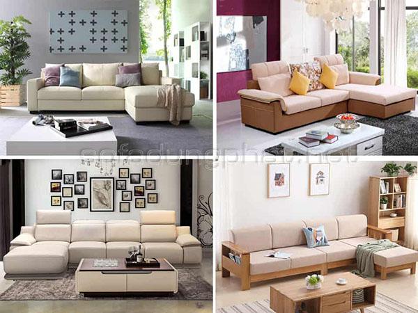 Ghế sofa phòng khách chung cư tại Dũng Phát