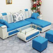 Sofa chung cu mau xanh thoi trang DP-CC23-2