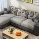 Sofa Phòng Khách Kích Thước Nhỏ Gọn Tinh Tế DP-PK33