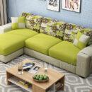 Sofa Phòng Khách Màu Xanh Bắt Mắt DP-PK35