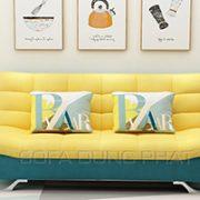 Sofa Giường Hai Màu Thời Trang