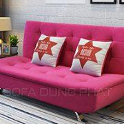 Sofa Giường Màu Hồng Nữ Tính