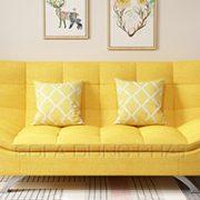 Sofa Giường Màu Vàng Thu Hút