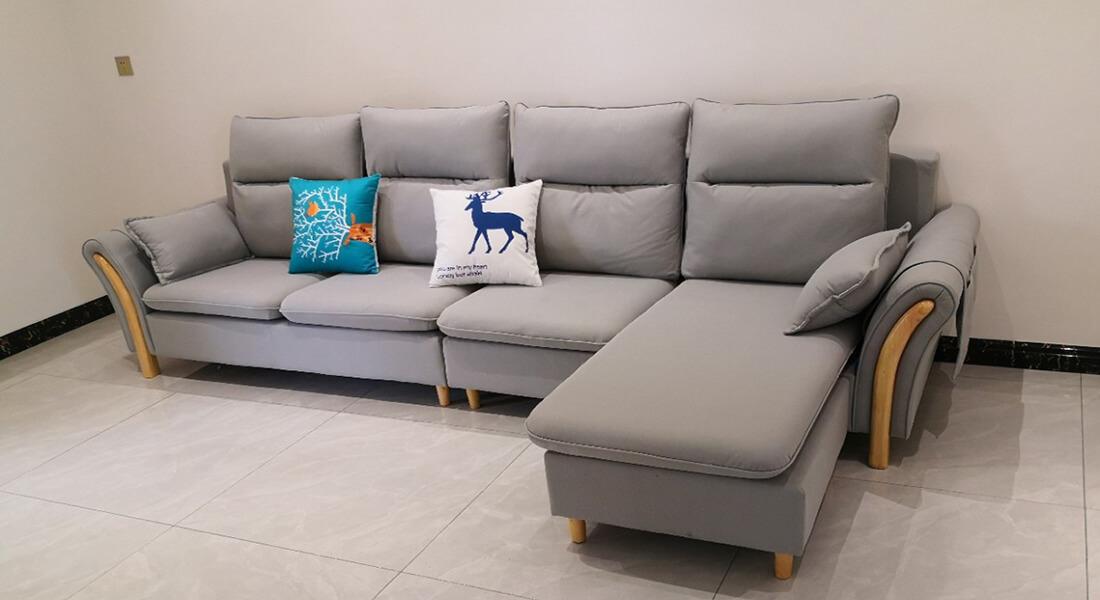 Ghế Sofa Bàn Giao Cho Khách