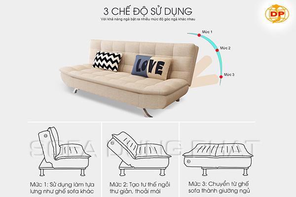 Nguyên lý hoạt động của sofa giường bật