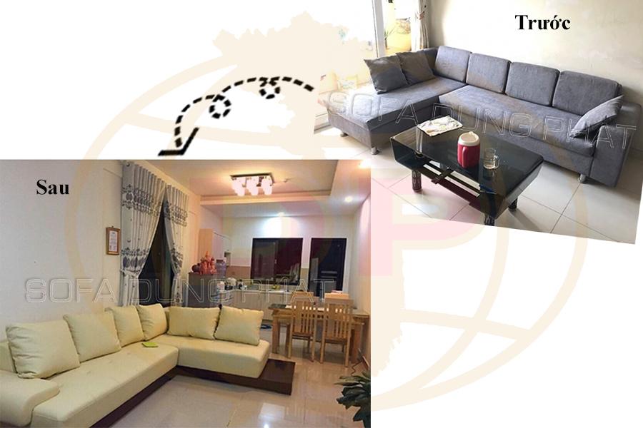 Sửa ghế và bọc lại ghế sofa