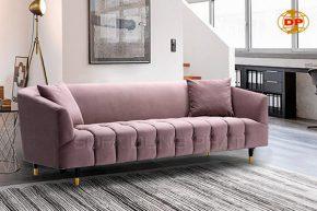 Ghế Sofa Băng Lớn Vải Nhung Quyến Rũ Êm Mịn DP-B41