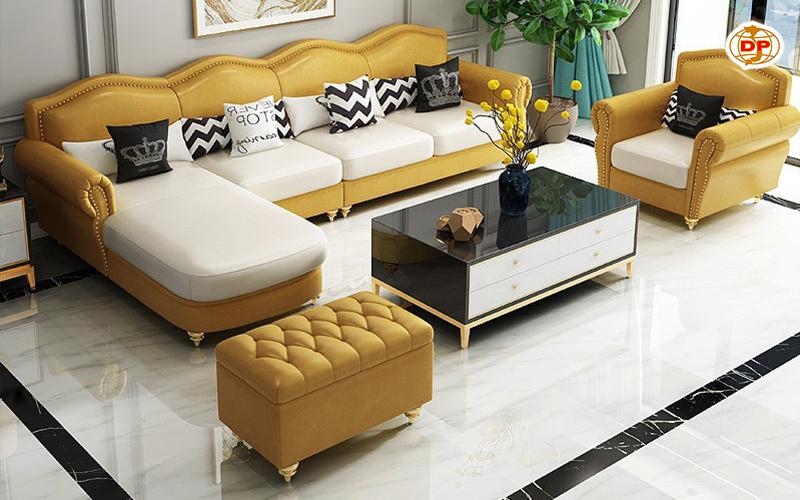 Sofa Nhập Khẩu Cao Cấp Da Hàn Quốc Bóng Mịn DP-CC55